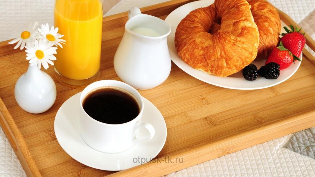 Питание BB Bad and Breakfast только завтрак