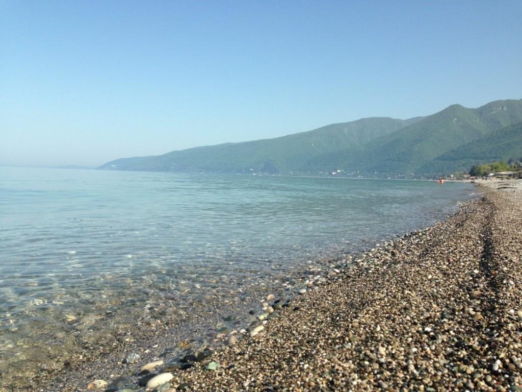 Гагра берег