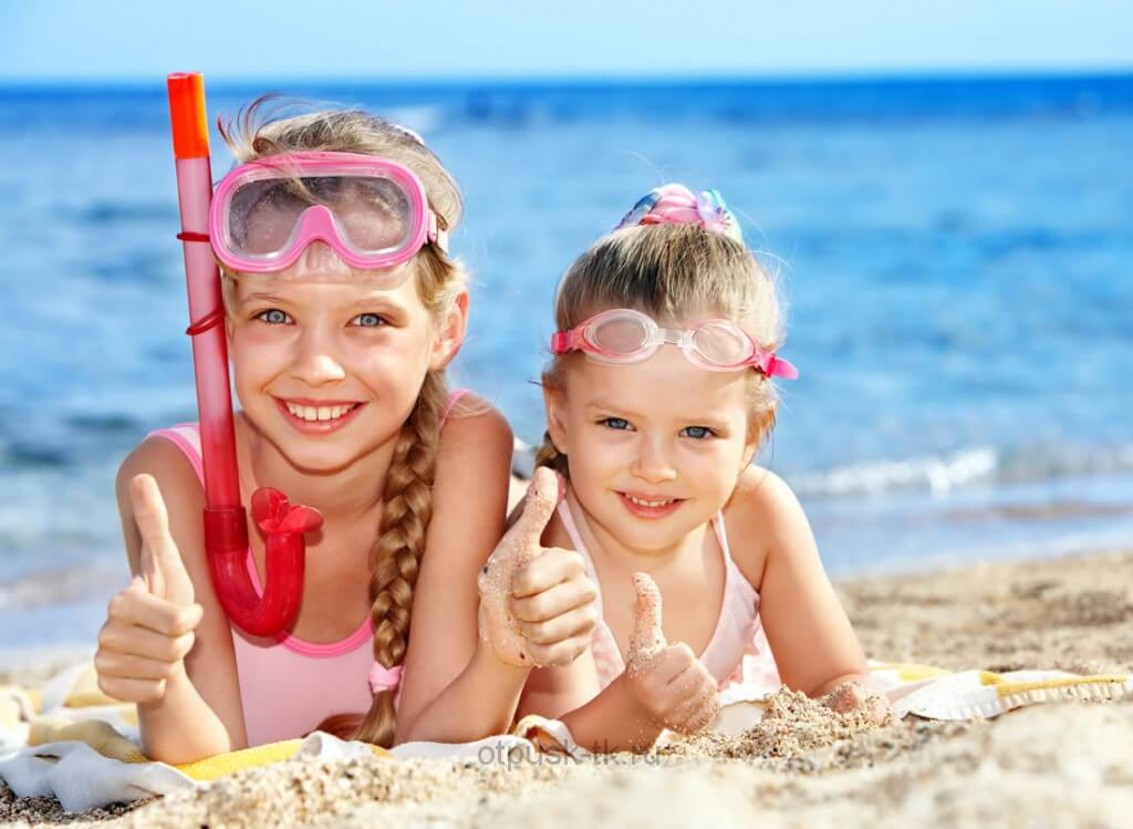 С ребенком на море на новый год