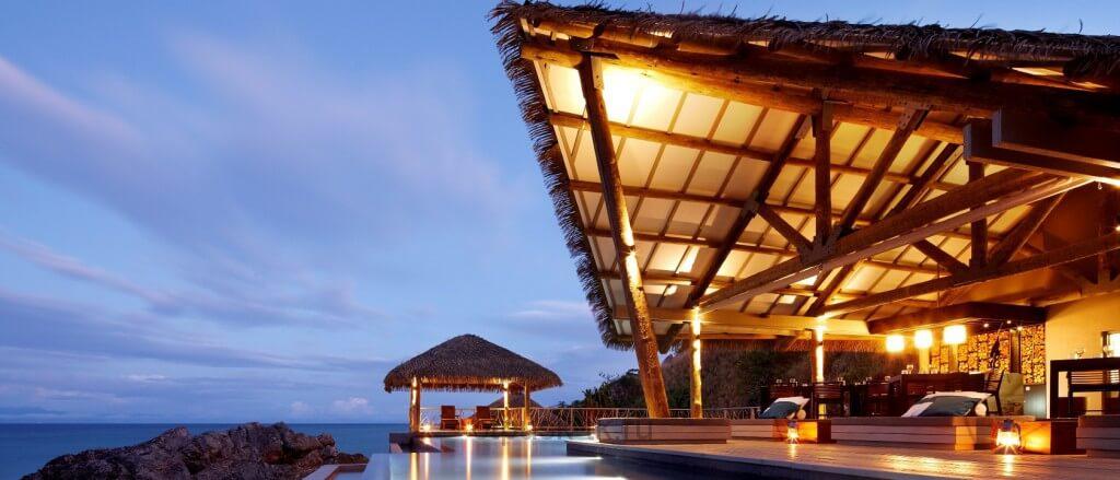 Один из элитных отелей в Азии