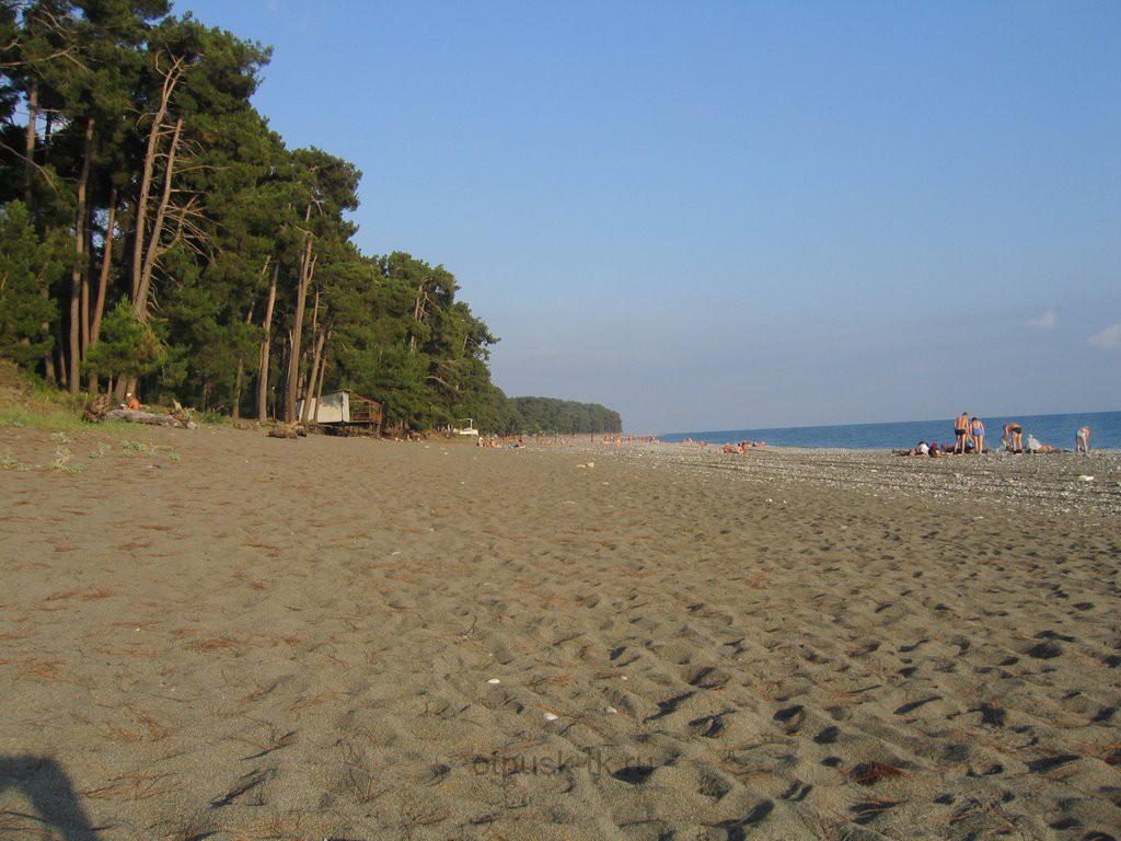 Пицунда один из пляжей