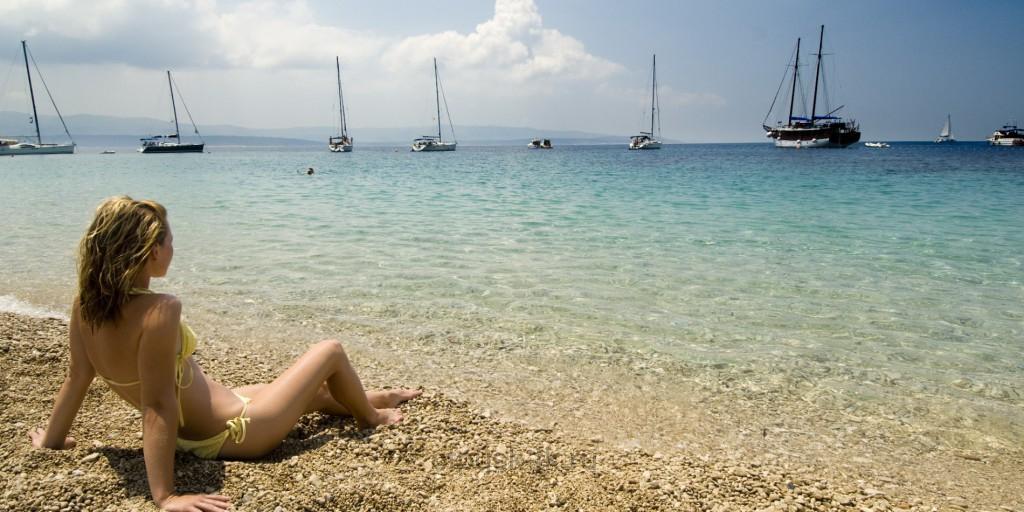 Пляжи в Хорватии