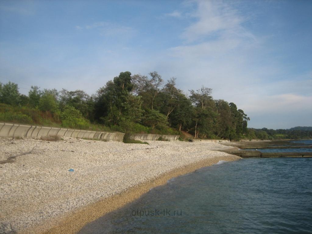 Пляж Новый Афон
