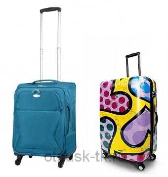 Пластиковый или тканевый чемодан