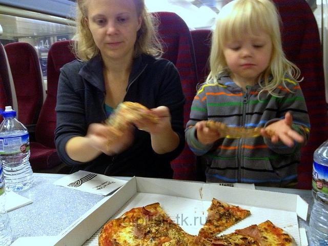 Что взять с собой в дорогу - пиццу